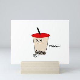 Boba Buddy [Fem] Mini Art Print