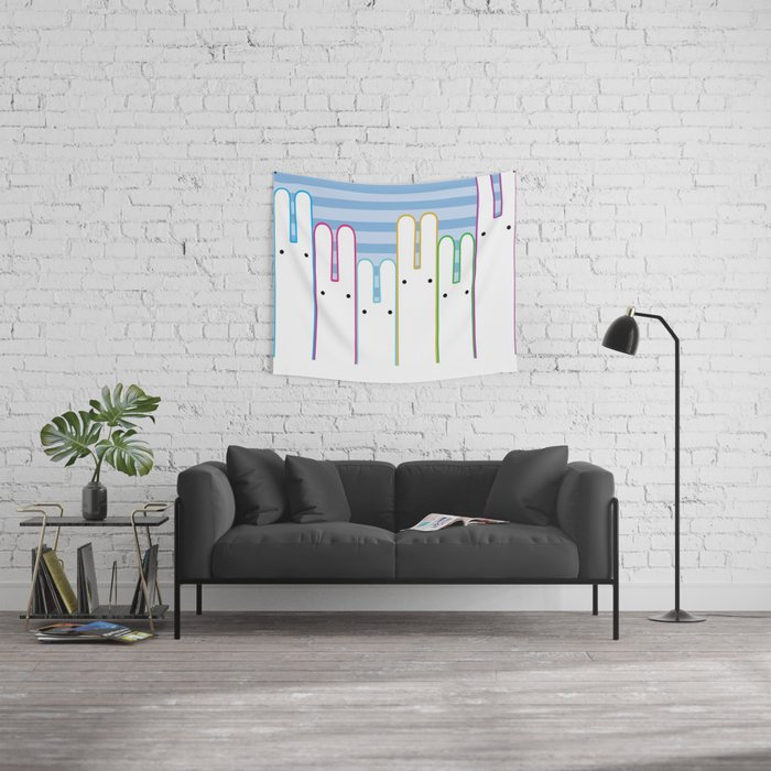 Bunny Buddies Wall Tapestry