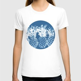 Pineapple blues T-shirt