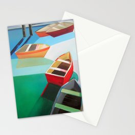 Five Boats Stationery Cards