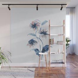 Wild flower Wall Mural