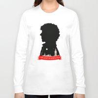 sherlock Long Sleeve T-shirts featuring Sherlock by Duke Dastardly