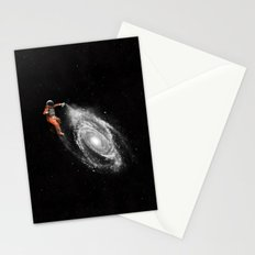Space Art Stationery Cards