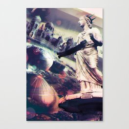 on mars Canvas Print