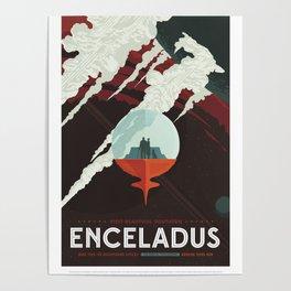 NASA Solar System Tour Retro Series Poster