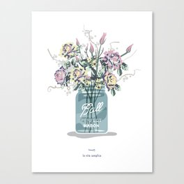 the simple life.  Canvas Print