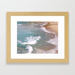Tamarama Surf Framed Art Print