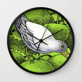 WHITEBIRD Wall Clock