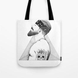 Beard Man - Thug Life Tote Bag