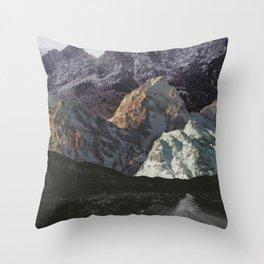 Night, A Landscape Throw Pillow