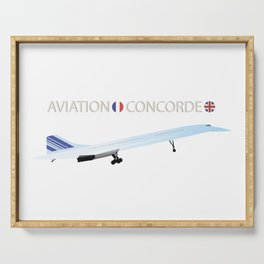 Concorde Turbojet-powered Supersonic Airliner Serving Tray
