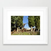 anchors Framed Art Prints featuring Anchors by aeolia