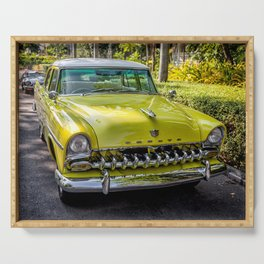 The DeSoto  Serving Tray