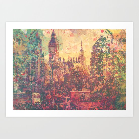 London3 Art Print