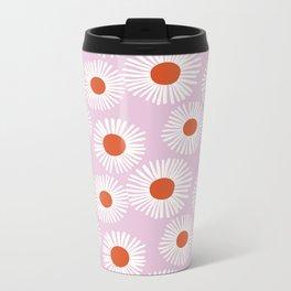 Daisy Starbusrt Metal Travel Mug
