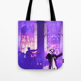 Waiting For The Night To Fall. Tote Bag