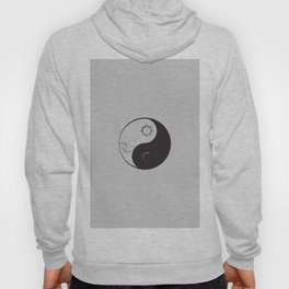 Yin Yang / Sun and Moon Hoody