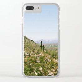 A Hot Day in the Canyon Clear iPhone Case
