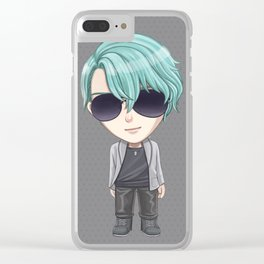 Mystic Messenger V -chibi version- Clear iPhone Case