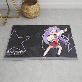 Lucky Star anime Rug