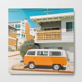 Vanlife camper - v25 Metal Print