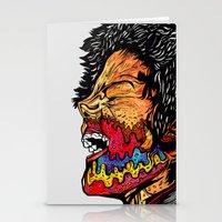 scream Stationery Cards featuring Scream by Vasco Vicente