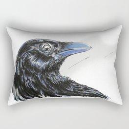 RHX Raven Logo Rectangular Pillow