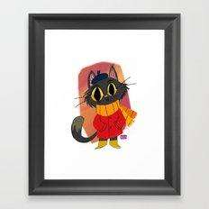 The Little Cat Framed Art Print