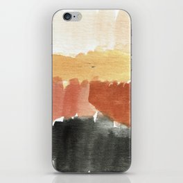 Abstract in Rust n Clay iPhone Skin