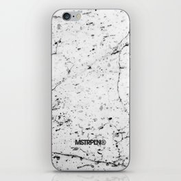 Speckle Marble Print iPhone Skin
