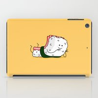 nori iPad Cases featuring Foods Of The World: Japan by Studio14