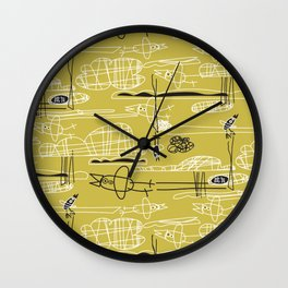 DIVE BOMB Wall Clock