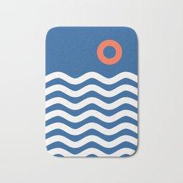 Nautical 03 Seascape Bath Mat