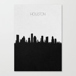City Skylines: Houston Canvas Print