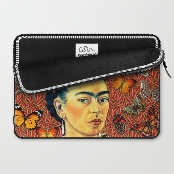 Butterflies frida Laptop Sleeve