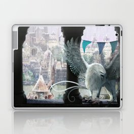 The white griffon Laptop & iPad Skin