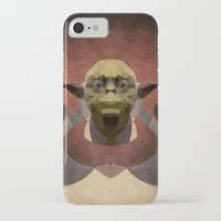yoda iPhone & iPod Cases featuring Yoda by lazylaves