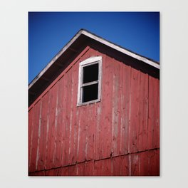 Abandon Barn Canvas Print