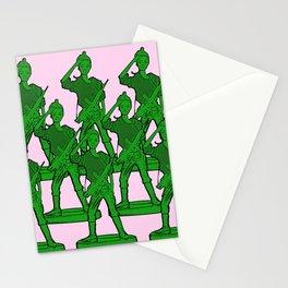 Barbie Army! Funny Barbie Pop Art! Stationery Cards