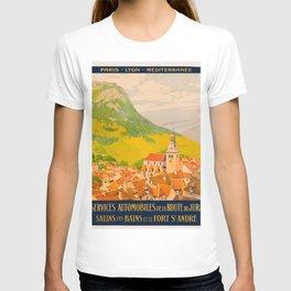 Vintage poster - Route du Jura, France T-shirt