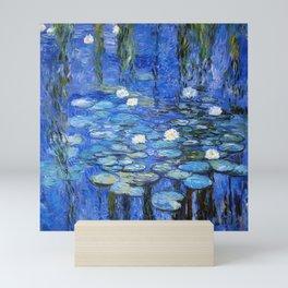 waterlilies a la Monet Mini Art Print