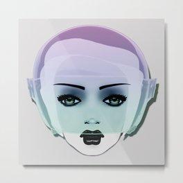 MOON CHILD . Candy Metal Print