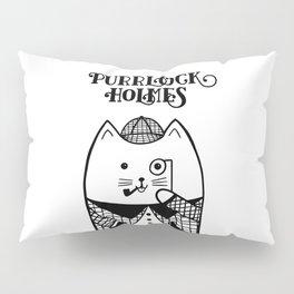 Purrlock Holmes Pillow Sham