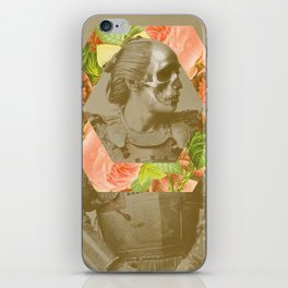 Botanical Samurai iPhone Skin