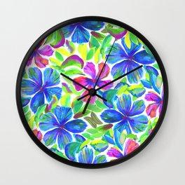 KALIA - BLUE Wall Clock