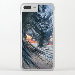 Midnight Blue Clear iPhone Case