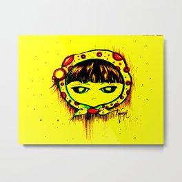 Poster Lili Metal Print