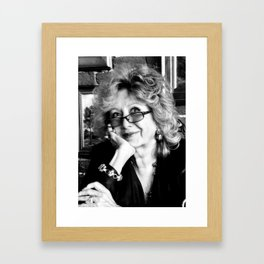 Elena Framed Art Print
