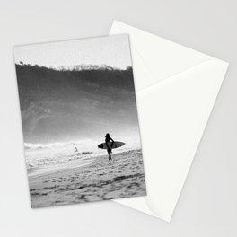 Noir Surf Stationery Cards