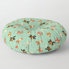 Goldfish Pattern Floor Pillow
